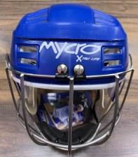 Mycro Hurling Helmet (Blue) Medium