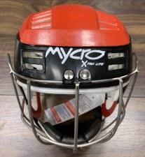 Mycro Hurling Helmet (Red Black) Medium