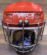 Mycro Hurling Helmet (Red)  Extra Small