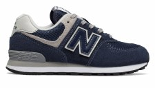 New Balance 574 Core Kids (Navy Grey) 3.5