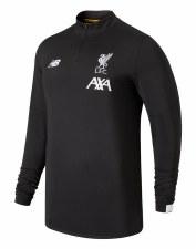 New Balance Liverpool 1/2 Zip Adults Training Top 2019/2020 (Dark Grey) Medium