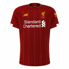 New Balance Liverpool Home Short Sleeve Kids Jersey 2019/2020 (Red) SB