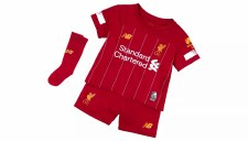New Balance Liverpool Home Infants Kit (Red) 18-24 Months