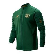 New Balance Ireland FAI Game Jacket Adults (Eden Green Gold) Large