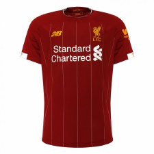 New Balance Liverpool Home Jersey Adults Short Sleeve 2019/2020 (Red) Small
