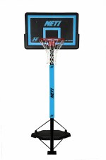 NET1 Competitor Basketball Stand (Black Blue)