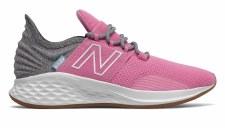 New Balance Fresh Foam Roav Kids (Pink Grey White) 4