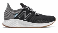 New Balance Fresh Foam Roav Little Kids (Black Grey White) 10