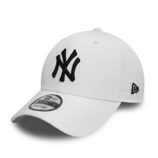 New Era NY 9Forty Basic (White) Adults