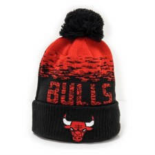 New Era NBA LA Bulls Bobble (Black Red) OSFA Adults