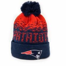New Era NFL New England Patriots Bobble (Navy Red) OSFA Adults