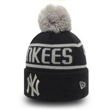 New Era New York Yankees Bobble (Black Grey) OSFA Adults