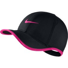 Nike Aerobill Featherlite Caps (Black Pink) Youths