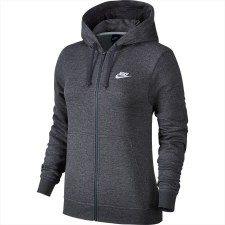 Nike Hoodie Full Zip FLC (Grey) XS