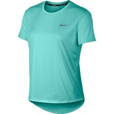 Nike Miler Ladies Running Tee (Mint) Medium