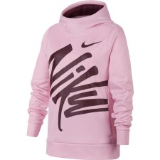 Nike Girls Therma GX Hoodie (Pink Purple) XLB