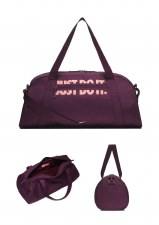 Nike Womens Gym Club Training Duffel Bag (Purple)