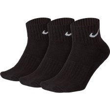 Nike Cushion Ankle Sock (Black) 5-8 Uk