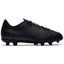 Nike Jr Vapor 12 Club GS Firm Ground Boots (Black Grey) 4