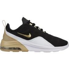 Nike Womens Air Max Motion 2 (Black Gold White) 5.5