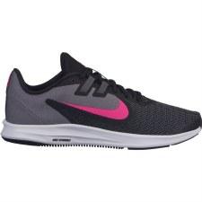 Nike Ladies Downshifter 9 (Black Grey Pink) 7
