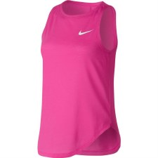 Nike Girls Studio Tank Top (Pink) Small Girls