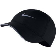 Nike Featherlight Ladies Run Hat (Black) 1 Size