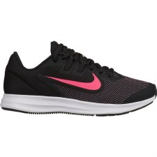 Nike Downshifter 9 (GS) (Black Pink) 4