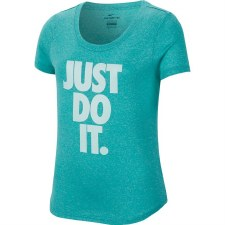 Nike Girls Dri Fit Tee JDI (Green) MB