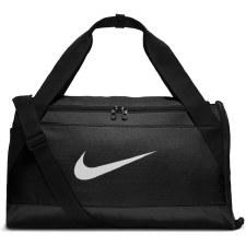 Nike Brasilia Duffel Holdall (Black White) Small