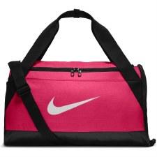 Nike Brasilia Duffel Holdall (Pink Black) Small