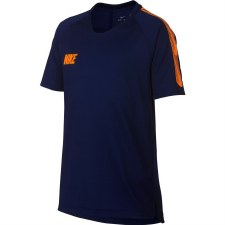 Nike Boys Breathe Squad Top (Navy Orange)