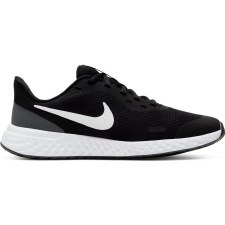 Nike Revolution 5 GS (Black White) 3