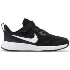 Nike Revolution 5 Velcro (Black White) 12