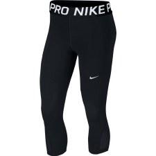 Nike Pro Capri (Black White) Medium