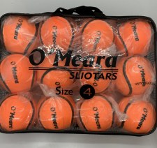 O'Meara Championship Sliotar Size 4 Value Pack 12 (Orange)