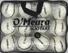 O'Meara All Weather Wall Ball  Sliotar Size 5 Value Pack 12 (White)