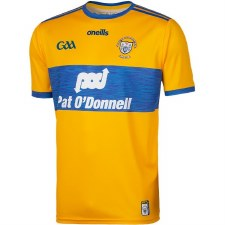 O'Neills Clare Home Jersey (Amber Royal) 5-6 Years