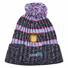 O'Neills Clare ladies Bobble Hat Kids Size (Navy Pink Blue) Girls