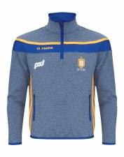 O'Neills Clare Slaney Half Zip Squad Top (Marl Marine Royal Amber) Age 5-6