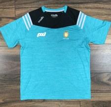 O'Neills Clare GAA Colorado Tee Shirt 5-6 (Melange Blue)