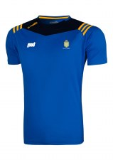 O'Neills Clare GAA Colorado Tee Shirt (Navy Royal Amber) 5-6