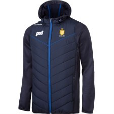 O'Neills Clare Holland 72 Full Zip Padded Fleece Jacket (Navy Royal Amber) Age 7-8