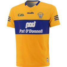 O'Neills Clare Home Jersey 2021/21 (Amber Royal) 5-6