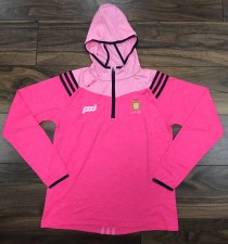 O'Neills Clare GAA Colorado Ladies Midlayer Half Zip Hoody 5-6