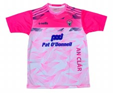 O'Neills Clare Ladies Jersey (Pink White) Size 10