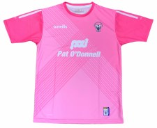 O'Neills Clare Ladies Jersey (Pink White) 5-6