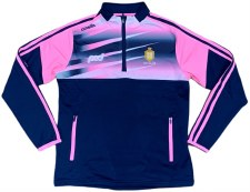 O'Neills Clare Ladies Portland Half Zip (Navy Pink White) 10-11
