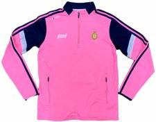 O'Neills Clare Ladies Portland Half Zip (Pink Navy White) 5-6