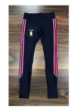 O'Neills Clare Ladies Solar Leggings Tight Fit (Navy Pink) Age 5-6